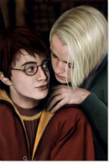 Harry + Malfoy = oh la la!