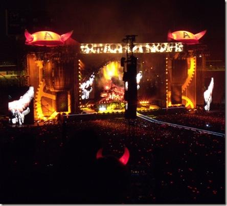 AC/DC desde las gradas; A.Z.; Barcelona, 07/06/09