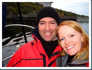 Leaving Shilshole Bay Marina, Seattle