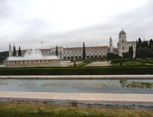 fonte Jardim da Praça do Império