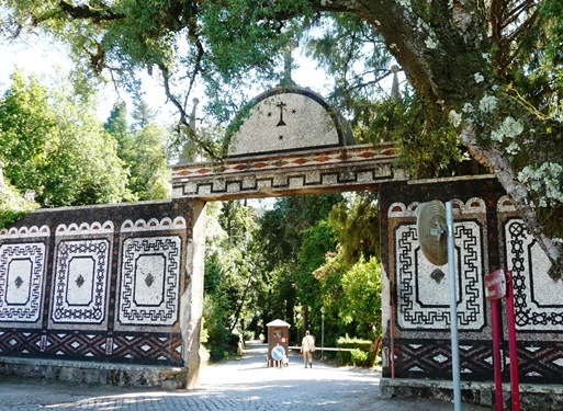 18- Porta da rainha - entrada do Palácio de Buçaco