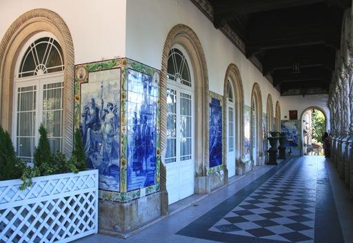 07 - Palácio de Buçado- corredor da entrada