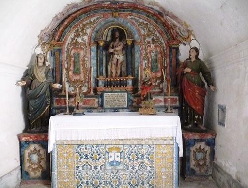 21-  Palácio de Buçaco- interior do convento - ermida de dona tereza de faro