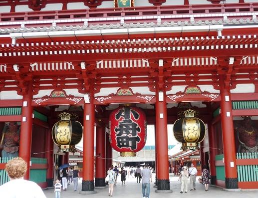 asakusa - sensoji templo- entrada