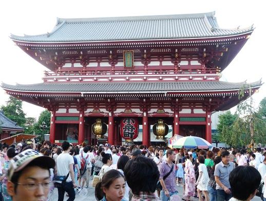 asakusa - sensoji templo- entrada 1