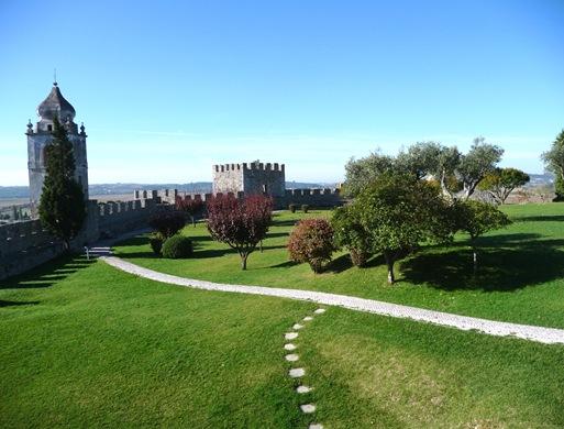 jardim do do Castelo de Montemor-o-Velho