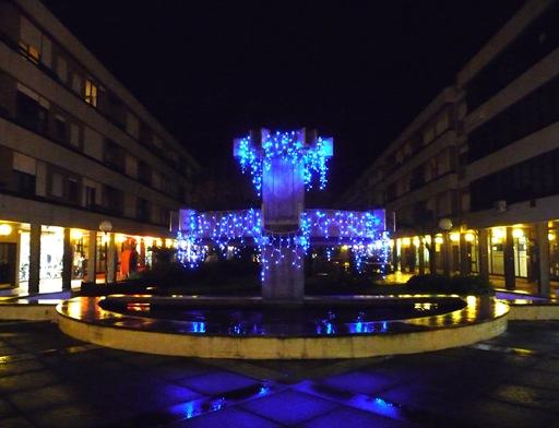 agueda - Natal - fonte da praça do municipio