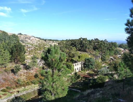 Castelo Novo - vista a partir do miradouro das alminhas