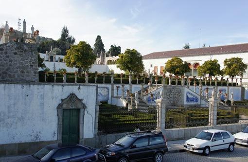 Castelo Branco - Jardim do Paço Episcopal - exterior 2