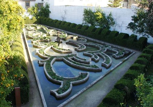 Castelo Branco - Jardim do Paço Episcopal - jardim alagado