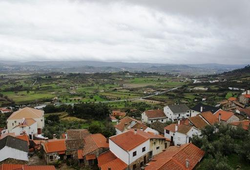 Belmonte - vista a partir da muralha do castelo 5