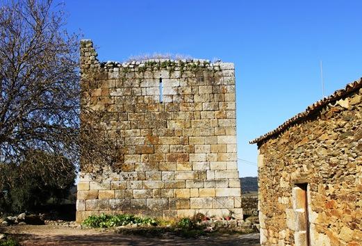 Idanha a Velha - castelo dos Templários - Torre de Menagem 2
