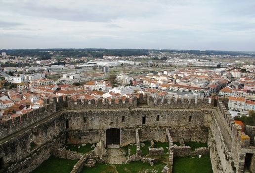 Pombal - muralha e vista da cidade a partir do castelo 4
