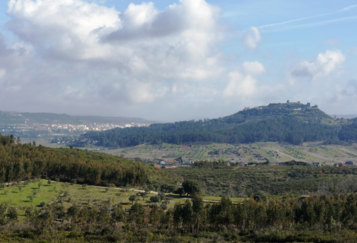 Ourém - vista do castelo e cidade