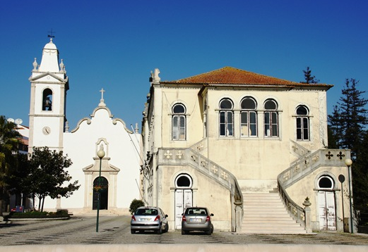 Vagos - igreja matriz e palacete visconde valdemouro