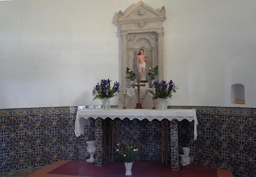 Vagos - interior da Capela de S. Sebastião