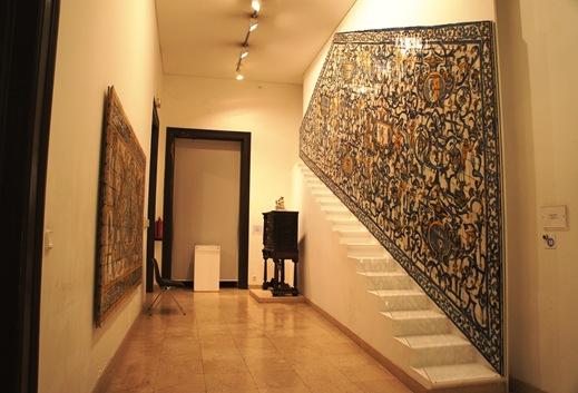 museu do azulejo - escadaria de S. Bento