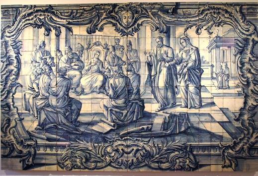 museu do azulejo - jesus entre doutores