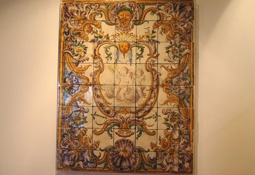 museu do azulejo - alegoria mariana
