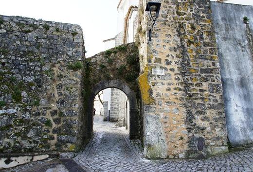 Ourem - Castelo - portas da vila