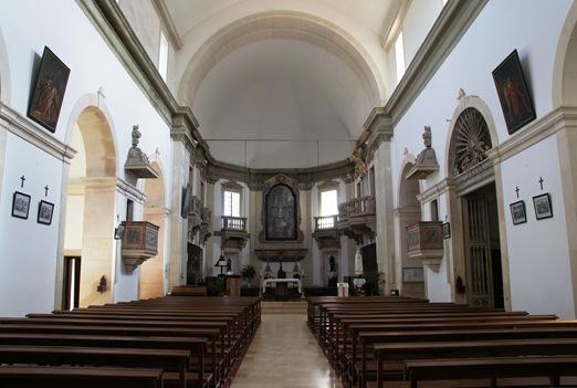 Ourem - Castelo - interior da igreja matriz 1