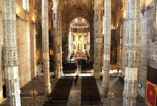 mosteiro dos Jeronimos -  igreja 6