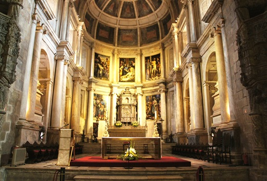 mosteiro dos Jeronimos -  igreja -retábulo maneirista da capela-mor