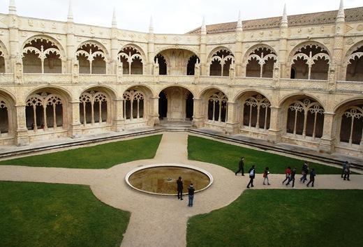 mosteiro dos Jeronimos -  claustro