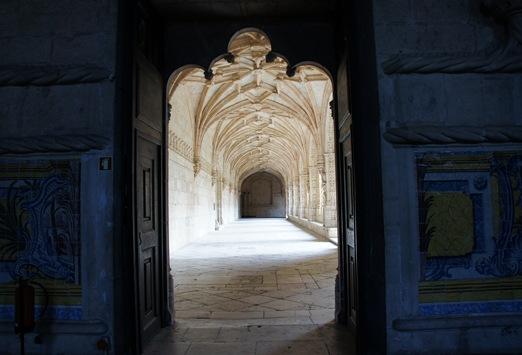 mosteiro dos Jeronimos -  porta do refeitório
