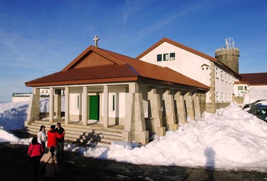 Serra da Estrela - igreja