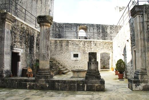 Porto de Mós - Castelo - interior
