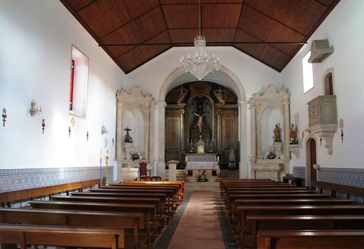Porto de Mós - igreja de são joão baptista - interior