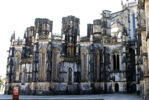 Batalha - Mosteiro de Santa Maria da Vitória- capelas imperfeitas 4