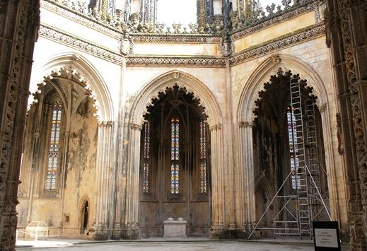Batalha - Mosteiro de Santa Maria da Vitória- capelas imperfeitas 11