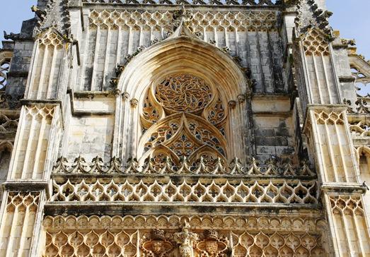 Batalha - Mosteiro de Santa Maria da Vitória- detalhe