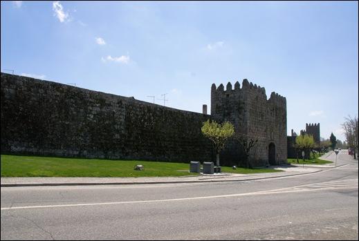 9.Trancoso -  castelo medieval - muralha e portas do prado