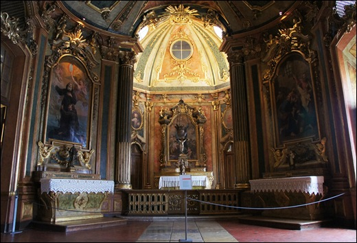 Palacio de Queluz - capela do palacio 2