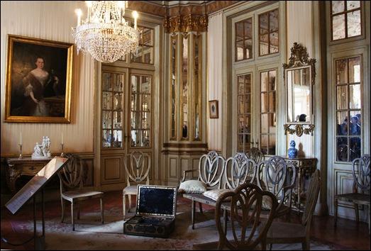 Palacio de Queluz - aposentos da princesa d. maria francisca