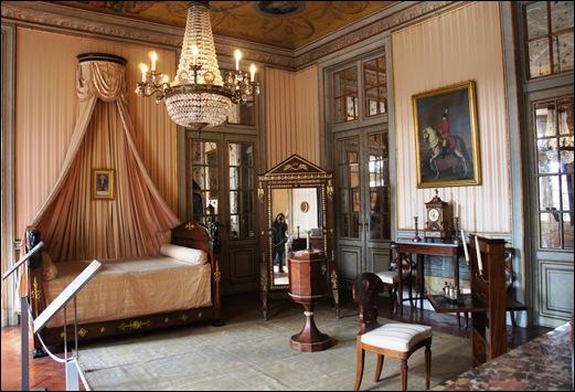 Palacio de Queluz - aposentos da princesa d. maria francisca - quarto imperio 2