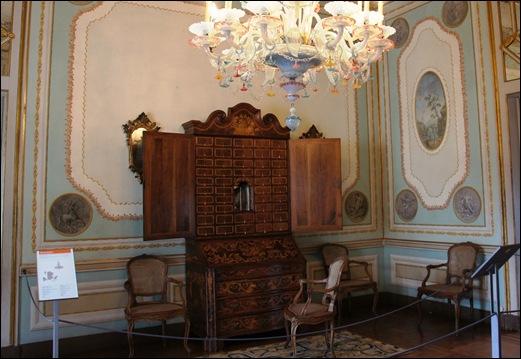 Palacio de Queluz - Sala das Açafatas