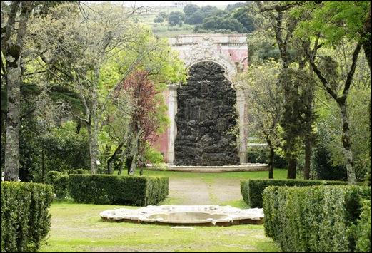 Palácio de Queluz - cascata grande