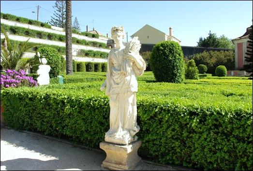 Quinta Real Caxias - estátua de Ceres