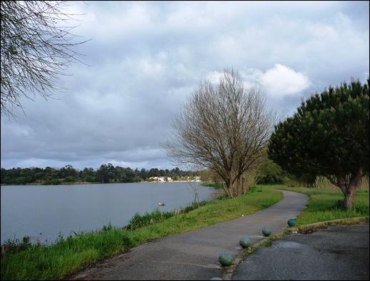 Mira - Lagoa - via pedonal