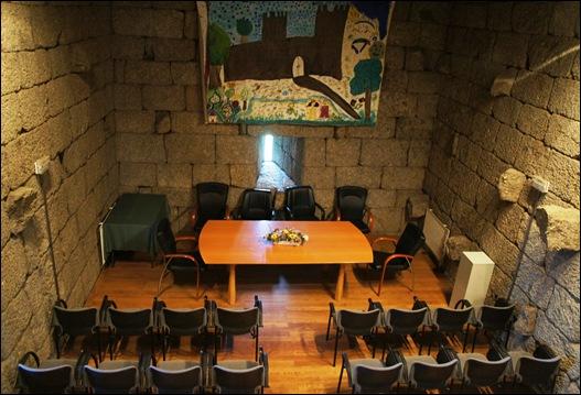 Linhares - castelo - interior - auditório
