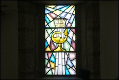 Sabugal - Glória Ishizaka - igreja de são joão - interior - vitral 2