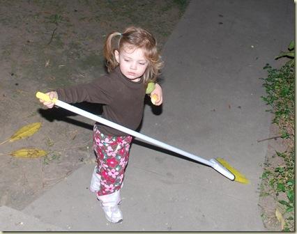 11-26 Keelie Sweeping