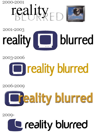 reality blurred logos over time