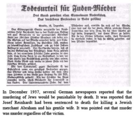 Todesurteil für Judenmörder