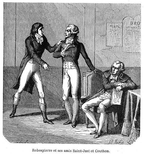 """Robespierre, Killer während der fronzösischen Revolution mit der """"hidden hand"""" der Illuminaten"""