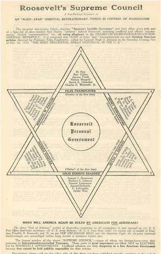 Untermyer gehörte zur Regierung Roosvelt